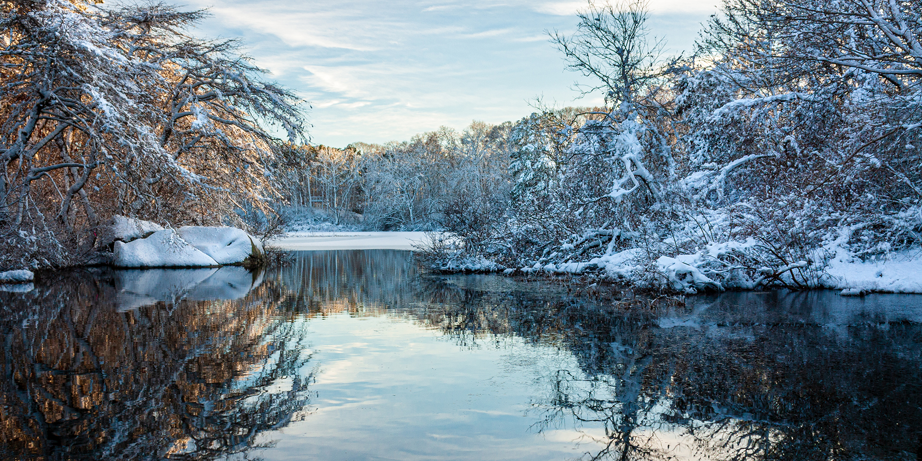 Winter at the Grist Mill, Photocontest winner by David Lear