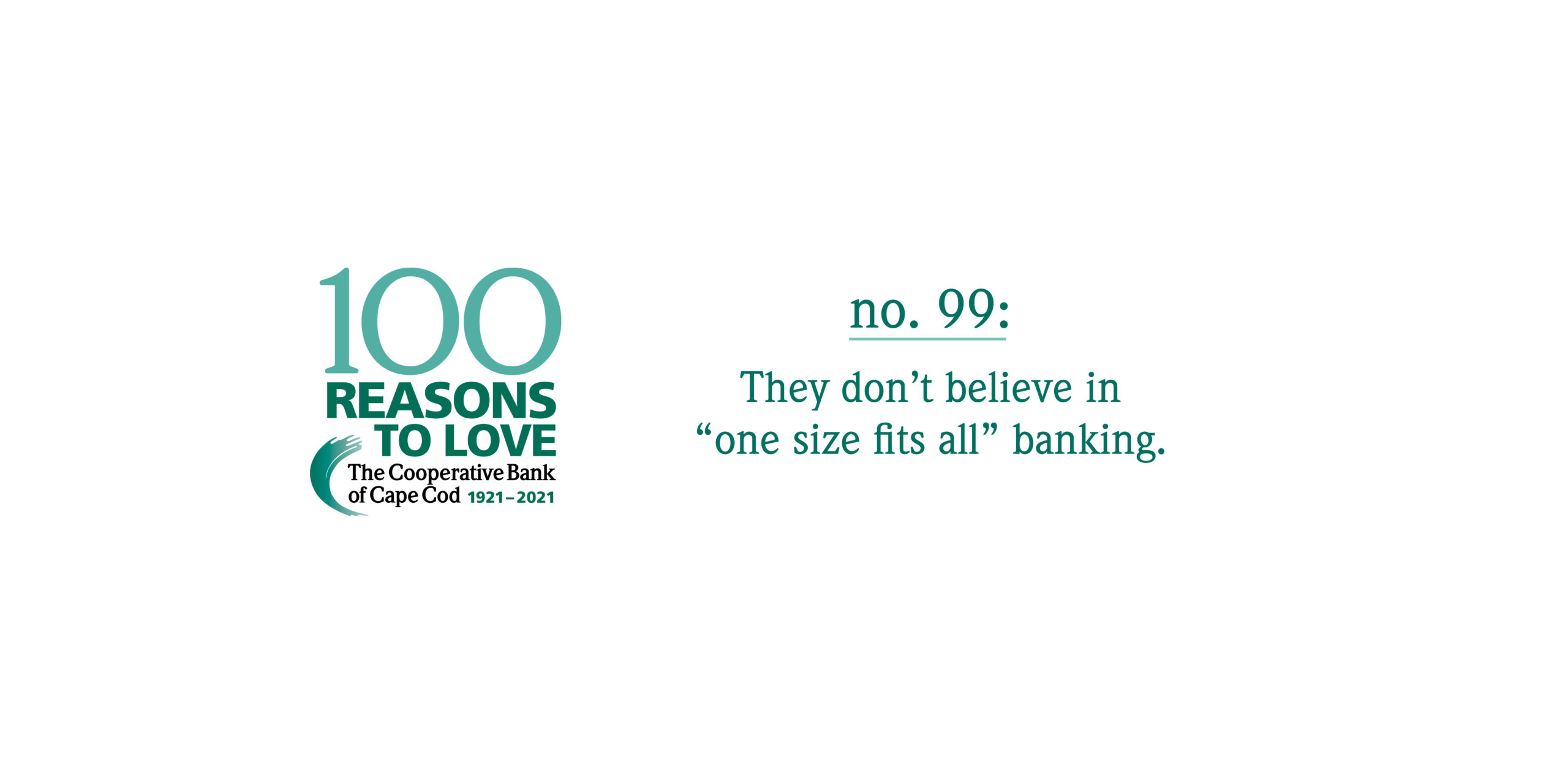 100 Reasons to Love The Coop - Reason #99: They don't believe in